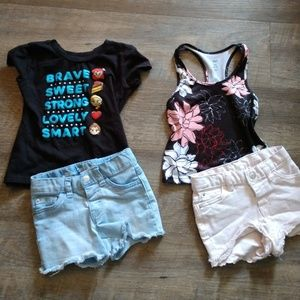 2 super cute 3t toddler outfits!